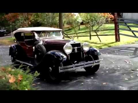 1929 Stutz DUAL COWL PHAETON MODEL M - CC-887985