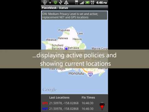 Video of Location Privacy