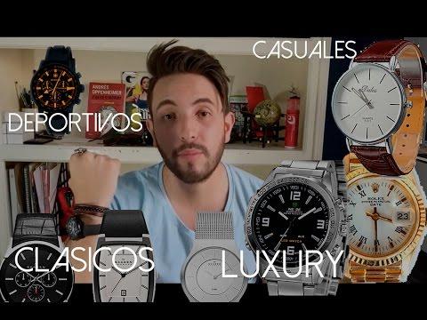Tipos de RELOJES para HOMBRE | JR Style For Men