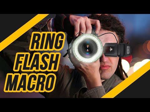 Ring Flash Macro de Led - Iluminador Godox