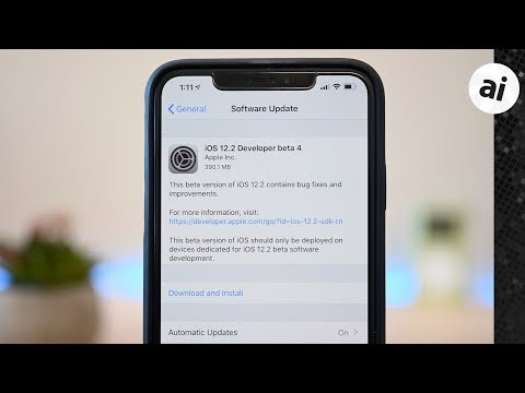 Apple deploys sixth developer betas of iOS 12 2, tvOS 12 2, watchOS