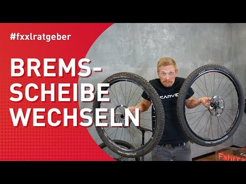 Fahrrad Bremsscheibe wechseln - Shimano Centerlock und 6 Loch Aufnahme - ausführliche Erklärung
