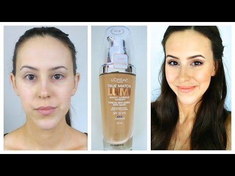 First Impression: L'Oreal True Match Lumi Foundation - Review and Demo