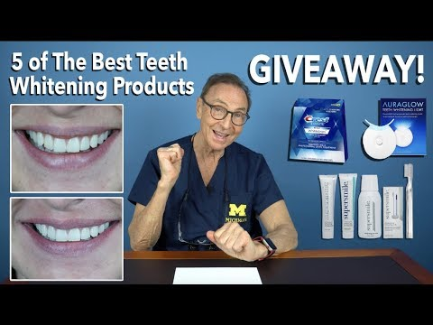 We Tried 5 of the Best Teeth Whitening Products and We're Giving One Away!
