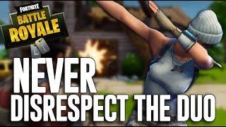 Never EVER Disrespect The Duo! - Fortnite Battle Royale Gameplay - Ninja