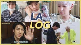 EXO-SC 'What a life' LA Vlog🌴