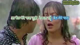 Baith Mere Paas Tujhe Dekhta Rahun - Yaadon Ki Kasam (1985) - Karaoke With Hindi Lyrics