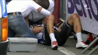 Велоспорт: завалы и травмы
