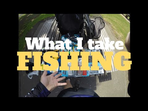 What I take land based fishing when using SOFT PLASTICS - Melbourne