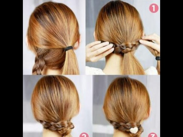 Phenomenal 6 Cute Easy Ponytails Free Mp3 Download Hairstyles For Men Maxibearus