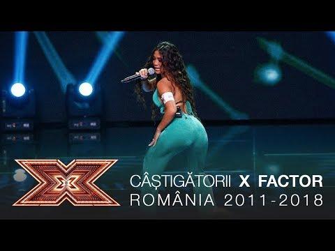 Castigatorii X Factor Romania – Colaj de melodii [2011 – 2018] Video