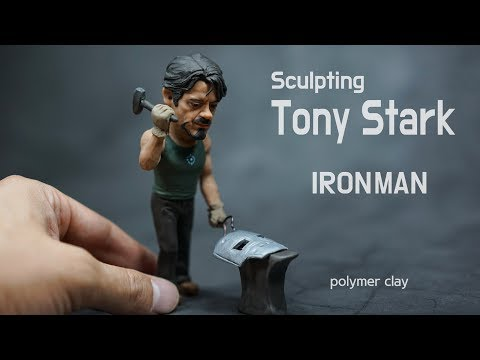 polymer clay sculpture tutorial by tj cha