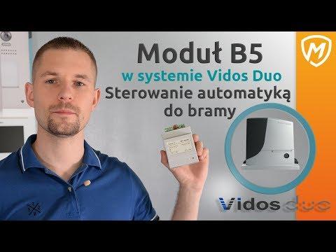 Sterowanie bramą z domofonu Vidos Duo - MODUŁ B5 - zdjęcie