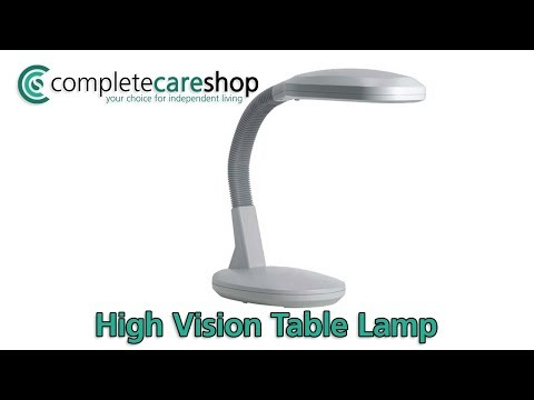 High Vision Table Lamp Demo