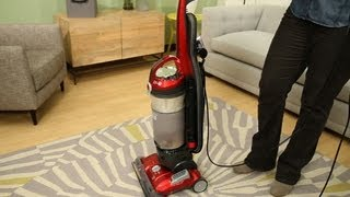 Testing out the Hoover WindTunnel 3 High Performance Bagless Upright vacuum