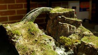 Sculpt an old Stone Bridge from clay! (D&D, Wargaming Terrain)