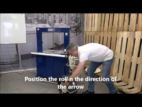 Ampag Boxer II: Inserting strap