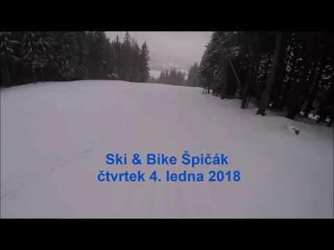 Pozvánka do lyžařského areálu na Špičáku z 4. 1. 2018.  - © Ski&Bike Špičák