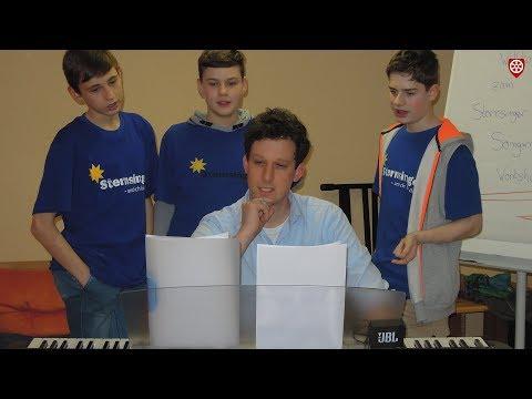 Sternsinger komponieren ihr eigenes Sternsinger-Lied