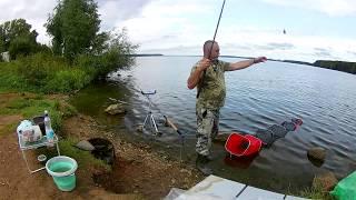 Ловля леща на белоярском водохранилище летом