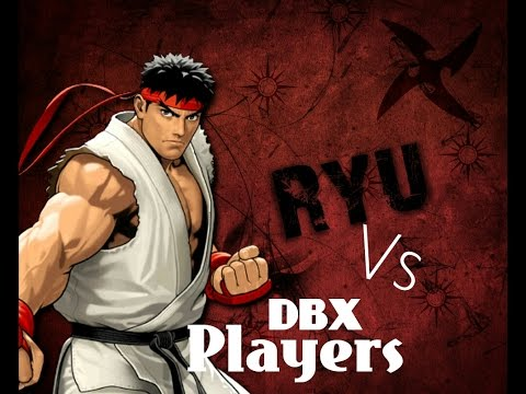 Ryu vs Dragon Ball Xenoverse Players
