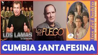 """Video thumbnail of """"Los del Fuego Los Lamas Los del Bohio Cumbia santafesina enganchado"""""""