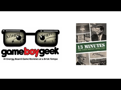 The Game Boy Geek's Allegro (2-min) Review of 13 Minutes