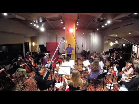 """Film Scoring Session """" How to train your dragon""""   Flute 2"""