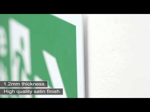 A Reliable Safety Sign Material - Rigid Plastic | Seton UK