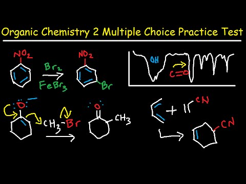 Organic Chemistry 2 Final Exam Review Multiple Choice Test - 100 ...