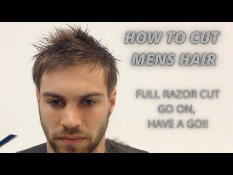 How to do a Full Razor Cut