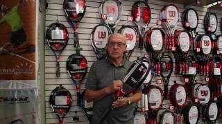 Ρακέτα τέννις Tecnifibre T-Fight 300 DC video