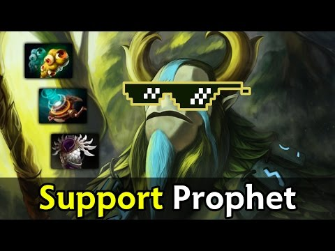 Support roaming Nature's Prophet — Wings vs DC