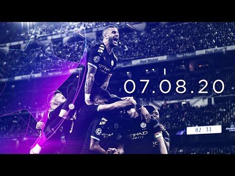 CHAMPIONS LEAGUE FOOTBALL IS BACK! | Man City V Real Madrid