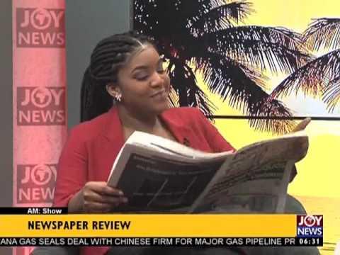 AM Show Newspaper Headlines on Joy News (24-4-17)