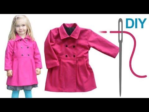 Mantel nähen für Anfänger – DIY Jacke mit Futter/Halbfutter nähen
