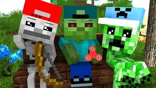 Mob Kids Life Season 1 - Craftronix Minecraft Animation