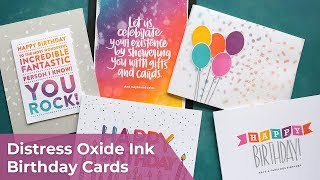 ITS MY BIRTHDAY! Lets Make Some Birthday Cards!