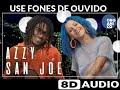 Orgânico verão #3 - San Joe e Azzy - Encrenqueira (Audio 8D)