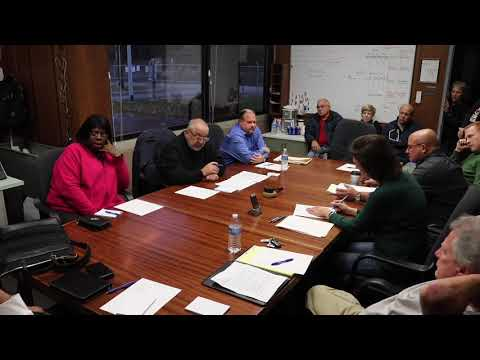 Mon Valley Sewage Authority Meeting 11-20-2019