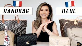 DESIGNER HANDBAG HAUL (Paris) & VAT refund shopping   Designer Handbag Collection 2020   Miss Louie