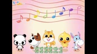 Bài hát tết cho bé tập hát - Ngày tết quê em