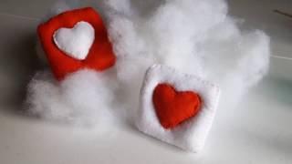 DIY Felt Heart (that Pops Out) Plushie