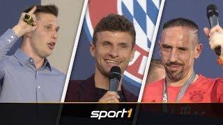 Süle Singt, Ribéry Hüpft: FCB-Stars Feiern Den Titel | SPORT1
