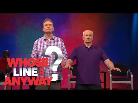 Zvukové efekty: Ryan s Colinem ve vesmíru - Whose Line Is It Anyway?