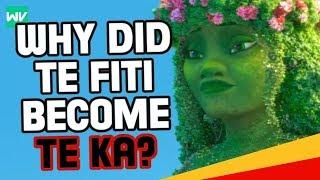 Why Did Te Fiti Become Te Ka? | Moana Theory: Discovering Disney