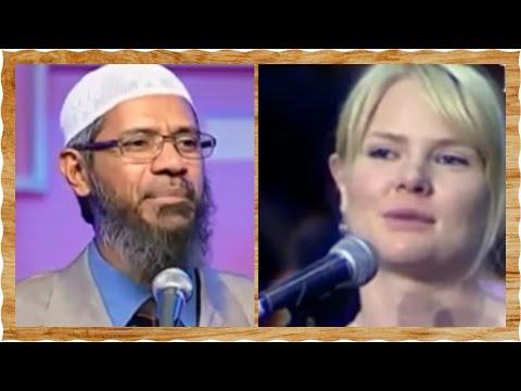 Christian Sister Accept Islam After She Got Her 2 Answer - Dr. Zakir Naik
