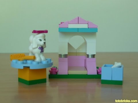Vidéo LEGO Friends 41021 : Le caniche et son petit palais