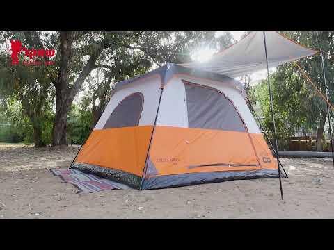 אוהל 6 אנשים everglades
