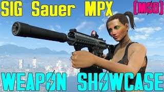 Fallout 4: Weapon Showcases: SIG Sauer MPX (Mod)